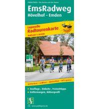 f&b Wanderkarten Ems Radweg Freytag-Berndt und ARTARIA