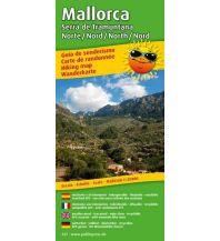 Wanderkarten Spanien Wanderkarte /Hiking Map Mallorca - Serra de Tramuntana Norte/Nord /North/Nord Freytag-Berndt und ARTARIA
