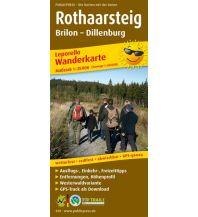f&b Wanderkarten Rothaarsteig 1:25.000 Freytag-Berndt und ARTARIA