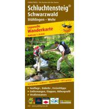 Wanderkarten Schwarzwald - Schwäbische Alb Wanderkarte Schluchtensteig Schwarzwald Freytag-Berndt und ARTARIA