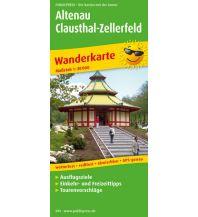 f&b Wanderkarten Altenau - Clausthal-Zellerfeld Freytag-Berndt und ARTARIA