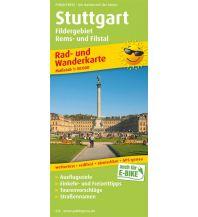 f&b Wanderkarten Stuttgart, Fildergebiet - Rems- und Filstal Freytag-Berndt und ARTARIA