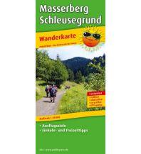 f&b Wanderkarten Masserberg - Schleusegrund Freytag-Berndt und ARTARIA