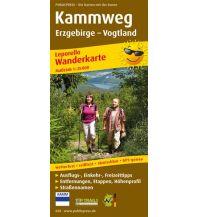 f&b Wanderkarten Kammweg 1:25.000 Freytag-Berndt und ARTARIA
