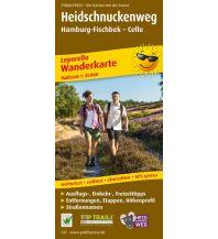 f&b Wanderkarten Heidschnuckenweg 1:35.000 Freytag-Berndt und ARTARIA