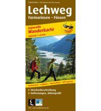 Weitwandern Lechweg, Formarinsee - Füssen 1:25.000 Freytag-Berndt und ARTARIA