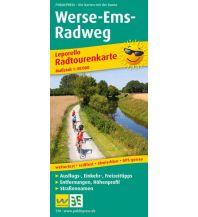 f&b Wanderkarten Werse-E-Radweg 1:50.000 Freytag-Berndt und ARTARIA