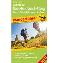 Abenteuer Saar-Hunsrück-Steig, Perl bis Boppard / Abzweig Trier Freytag-Berndt und ARTARIA