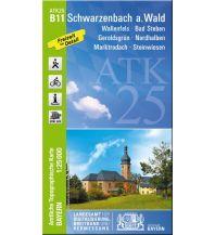 Wanderkarten Bayern Bayerische ATK25-B11, Schwarzenbach am Wald 1:25.000 Bayerisches Landesamt für Digitalisierung, Breitband und Vermessung
