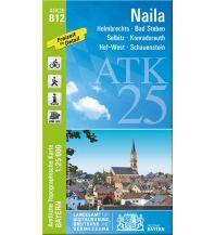 Wanderkarten Bayern Bayerische ATK25-B12, Naila 1:25.000 Bayerisches Landesamt für Digitalisierung, Breitband und Vermessung