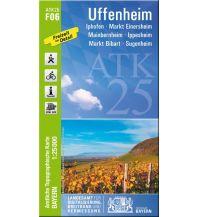Wanderkarten Bayern Bayerische ATK25-F06, Uffenheim 1:25.000 Bayerisches Landesamt für Digitalisierung, Breitband und Vermessung