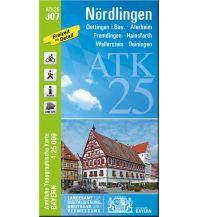 Wanderkarten Schwarzwald - Schwäbische Alb Bayerische ATK25-J07, Nördlingen 1:25.000 Bayerisches Landesamt für Digitalisierung, Breitband und Vermessung