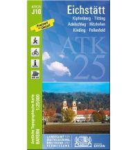 Wanderkarten Bayern Bayerische ATK25-J10, Eichstätt 1:25.000 Bayerisches Landesamt für Digitalisierung, Breitband und Vermessung
