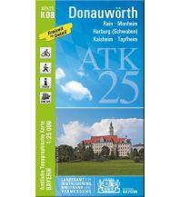 Wanderkarten Schwarzwald - Schwäbische Alb Bayerische ATK25-K08, Donauwörth 1:25.000 Bayerisches Landesamt für Digitalisierung, Breitband und Vermessung