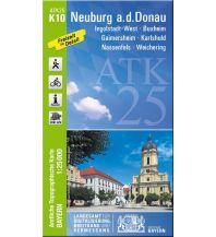 Wanderkarten Bayern ATK25-K10 Neuburg a.d.Donau (Amtliche Topographische Karte 1:25000) Bayerisches Landesamt für Digitalisierung, Breitband und Vermessung