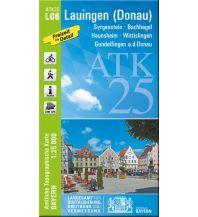 Wanderkarten Schwarzwald - Schwäbische Alb Bayerische ATK25-L06, Lauingen an der Donau 1:25.000 Bayerisches Landesamt für Digitalisierung, Breitband und Vermessung