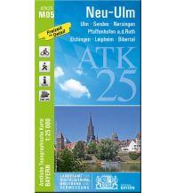 Wanderkarten Bayern Bayerische ATK25-M05, Neu-Ulm 1:25.000 Bayerisches Landesamt für Digitalisierung, Breitband und Vermessung
