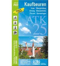Wanderkarten Bayern Bayerische ATK25-P07, Kaufbeuren 1:25.000 Bayerisches Landesamt für Digitalisierung, Breitband und Vermessung
