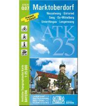 Wanderkarten Bayern Bayerische ATK25-Q07, Marktoberdorf 1:25.000 Bayerisches Landesamt für Digitalisierung, Breitband und Vermessung