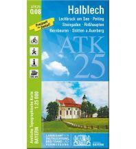 Wanderkarten Bayern Bayerische ATK25-Q08, Halblech 1:25.000 Bayerisches Landesamt für Digitalisierung, Breitband und Vermessung