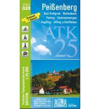 Wanderkarten Bayern Bayerische ATK25-Q09, Peißenberg 1:25.000 Bayerisches Landesamt für Digitalisierung, Breitband und Vermessung