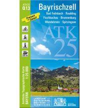 Wanderkarten Bayern Bayerische ATK25-Q13, Bayrischzell 1:25.000 Bayerisches Landesamt für Digitalisierung, Breitband und Vermessung