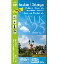 Wanderkarten Tirol Bayerische ATK25-Q14, Aschau im Chiemgau 1:25.000 Bayerisches Landesamt für Digitalisierung, Breitband und Vermessung