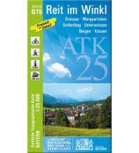 Wanderkarten Tirol Bayerische ATK25-Q15, Reit im Winkl 1:25.000 Bayerisches Landesamt für Digitalisierung, Breitband und Vermessung