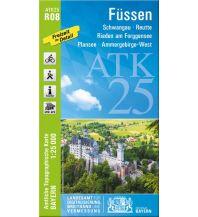 Wanderkarten Tirol Bayerische ATK25-R08, Füssen 1:25.000 Bayerisches Landesamt für Digitalisierung, Breitband und Vermessung