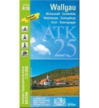 Wanderkarten Bayern Bayerische ATK25-R10, Wallgau 1:25.000 Bayerisches Landesamt für Digitalisierung, Breitband und Vermessung