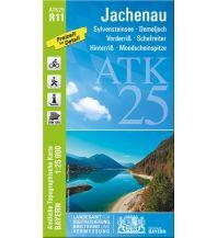 Wanderkarten Tirol Bayerische ATK25-R11, Jachenau 1:25.000 Bayerisches Landesamt für Digitalisierung, Breitband und Vermessung