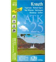 Wanderkarten Tirol Bayerische ATK25-R12, Kreuth 1:25.000 Bayerisches Landesamt für Digitalisierung, Breitband und Vermessung