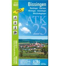 Wanderkarten Schwarzwald - Schwäbische Alb Bayerische ATK25-K07, Bissingen 1:25.000 Bayerisches Landesamt für Digitalisierung, Breitband und Vermessung