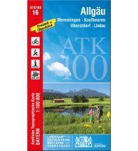 Wanderkarten Bayern Bayerische ATK100-16, Allgäu 1:100.000 Bayerisches Landesamt für Digitalisierung, Breitband und Vermessung