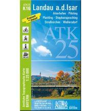 Wanderkarten Bayern Bayerische ATK25-K16, Landau an der Isar 1:25.000 Bayerisches Landesamt für Digitalisierung, Breitband und Vermessung