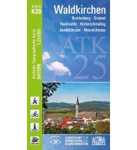 Wanderkarten Bayern Bayerische ATK25-K20, Waldkirchen 1:25.000 Bayerisches Landesamt für Digitalisierung, Breitband und Vermessung