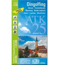 Wanderkarten Bayern ATK25-L15 Dingolfing (Amtliche Topographische Karte 1:25000) Bayerisches Landesamt für Digitalisierung, Breitband und Vermessung