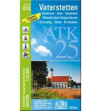 Wanderkarten Bayern Bayerische ATK25-O12, Vaterstetten 1:25.000 Bayerisches Landesamt für Digitalisierung, Breitband und Vermessung