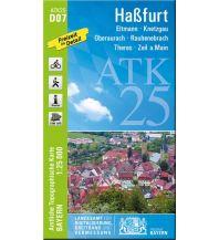 Wanderkarten Bayern ATK25-D07 Haßfurt (Amtliche Topographische Karte 1:25000) Bayerisches Landesamt für Digitalisierung, Breitband und Vermessung