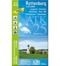 Wanderkarten Bayern Bayerische ATK25-K13, Rottenburg an der Laaber 1:25.000 Bayerisches Landesamt für Digitalisierung, Breitband und Vermessung