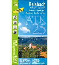 Wanderkarten Bayern Bayerische ATK25-L16, Reisbach 1:25.000 Bayerisches Landesamt für Digitalisierung, Breitband und Vermessung
