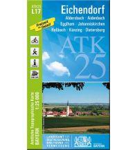Wanderkarten Bayern Bayerische ATK25-L17, Eichendorf 1:25.000 Bayerisches Landesamt für Digitalisierung, Breitband und Vermessung