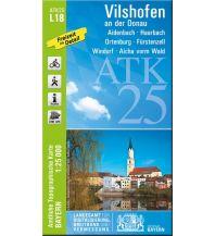 Wanderkarten Bayern Bayerische ATK25-L18, Vilshofen an der Donau 1:25.000 Bayerisches Landesamt für Digitalisierung, Breitband und Vermessung