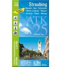 Wanderkarten Bayern Bayerische ATK25-J15, Straubing 1:25.000 Bayerisches Landesamt für Digitalisierung, Breitband und Vermessung