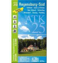Wanderkarten Bayern Bayerische ATK25-J13, Regensburg Süd 1:25.000 Bayerisches Landesamt für Digitalisierung, Breitband und Vermessung