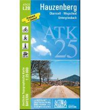 Wanderkarten Oberösterreich Bayerische ATK25-L20, Hauzenberg 1:25.000 Bayerisches Landesamt für Digitalisierung, Breitband und Vermessung