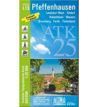 Wanderkarten Bayern Bayerische ATK25-L13, Pfeffenhausen 1:25.000 Bayerisches Landesamt für Digitalisierung, Breitband und Vermessung