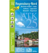 Wanderkarten Bayern Bayerische ATK25-I13, Regensburg-Nord 1:25.000 Bayerisches Landesamt für Digitalisierung, Breitband und Vermessung