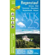 Wanderkarten Bayern Bayerische ATK25-I14, Regenstauf 1:25.000 Bayerisches Landesamt für Digitalisierung, Breitband und Vermessung