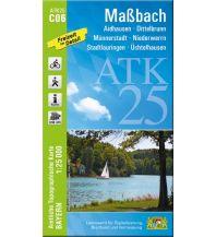 Wanderkarten Bayern Bayerische ATK25-C06, Maßbach 1:25.000 Bayerisches Landesamt für Digitalisierung, Breitband und Vermessung